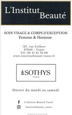 Exemple institut de beauté n°141 zone Indre-et-Loire par L' Institut Beauté