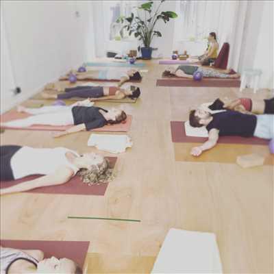 Photo Yoga n°303 dans le département 13 par Association Moonrise Yoga Studio